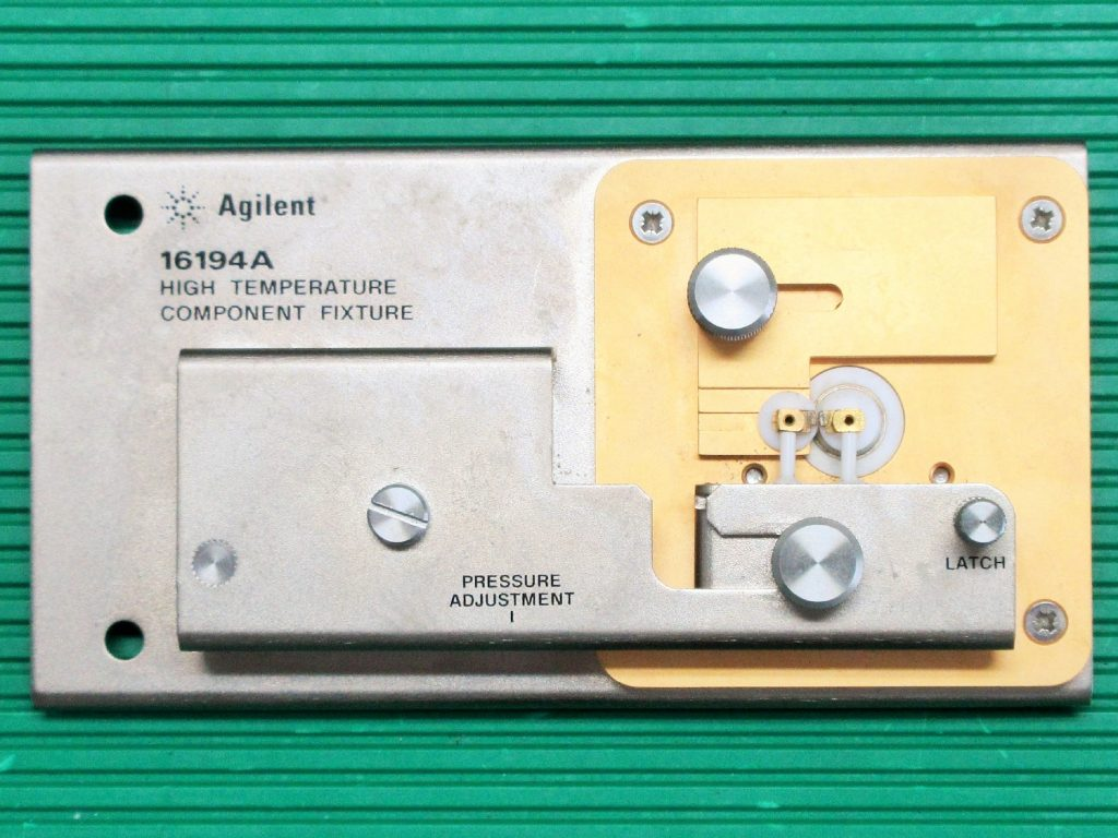 高温コンポーネント用テスト・フィクスチャ 16194A