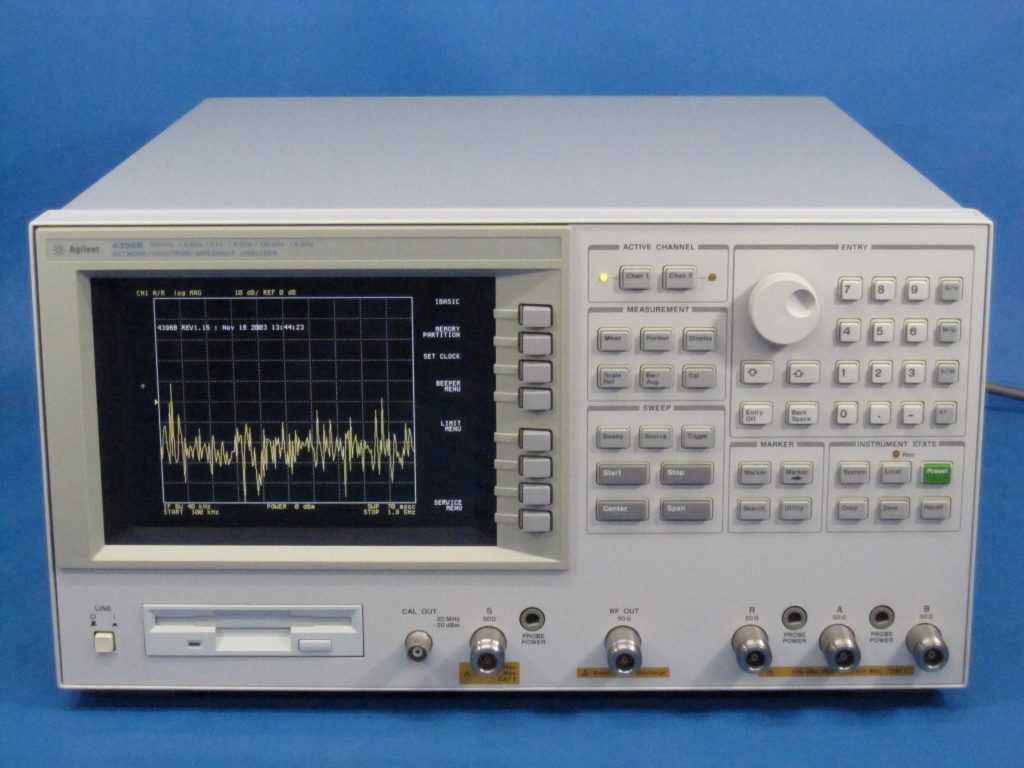 RFネットワーク/スペクトラム/インピーダンス・アナライザ 4396B/010,1D5