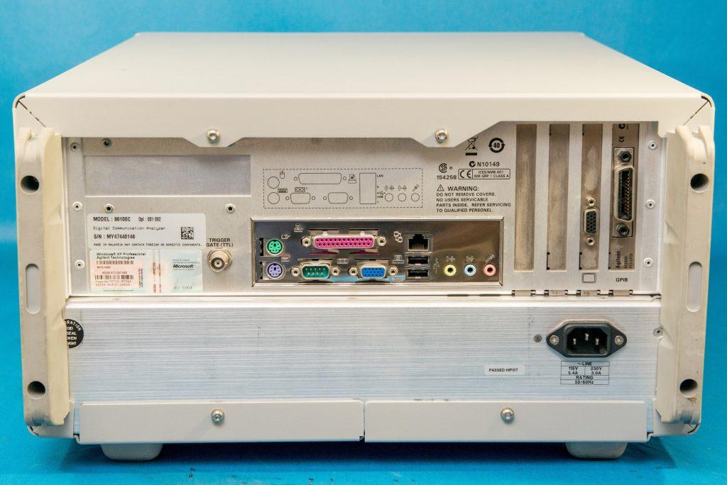 ディジタル・コミュニケーション・アナライザ 86100C/001