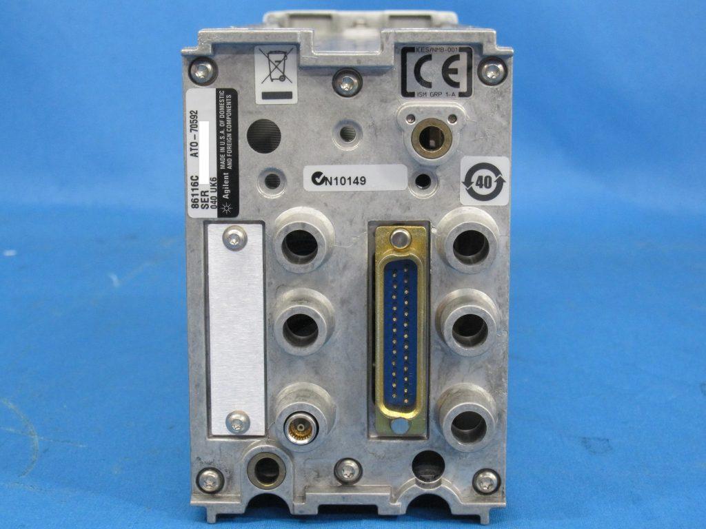 65GHz光/80GHz電気モジュール 86116C/040