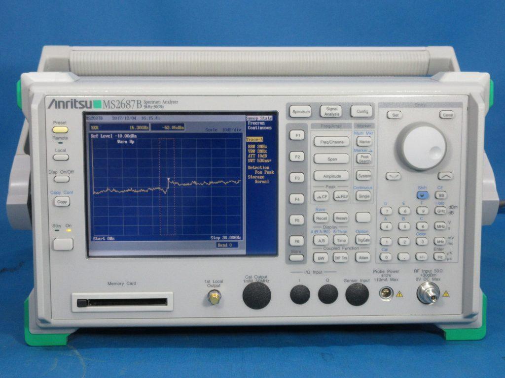 スペクトラム アナライザ MS2687B/MX268730A