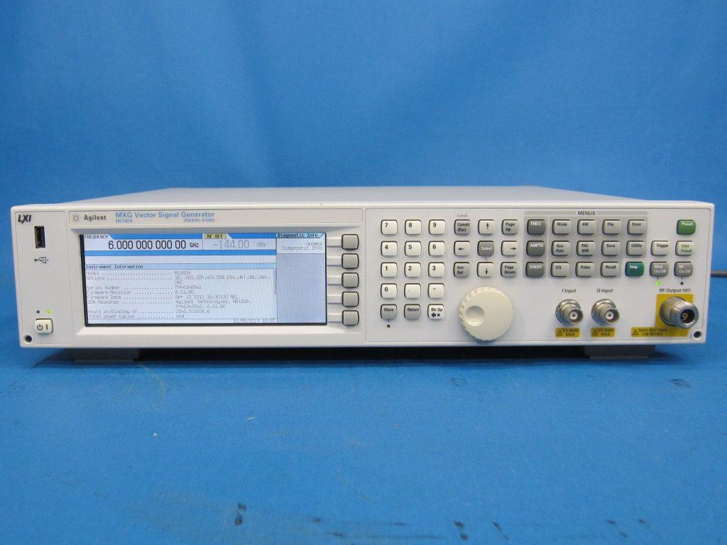 MXGベクトル信号発生器 N5182A/019,099,1EA,403,503,654,ALB,U01,U02,UNV