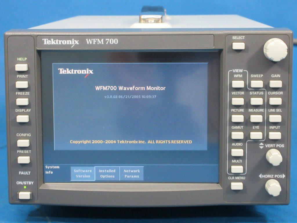 SD/HDマルチ波形モニタ WFM700M/WFM7M