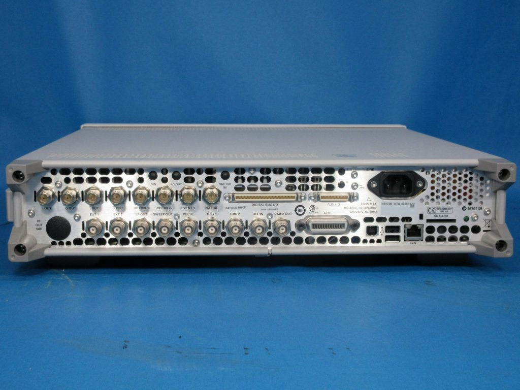 Xシリーズ RFベクトル信号発生器 N5172B/021,099,431,506,653,N7617B-3FP,EFP,FFP