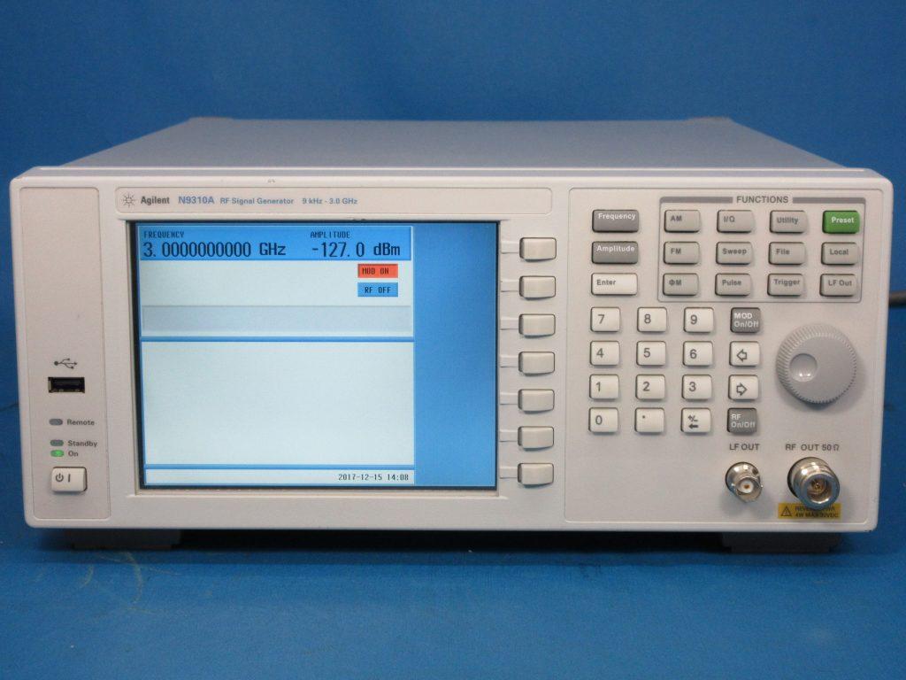 RF信号発生器 N9310A