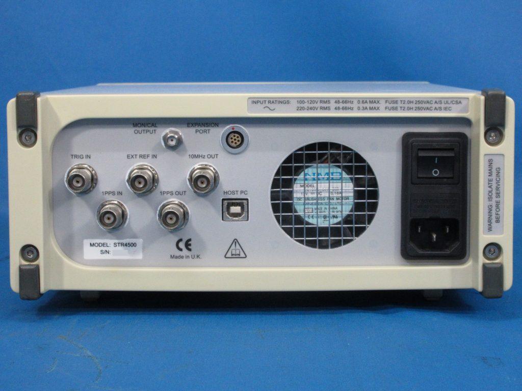 GPS/SBAS対応擬似信号発生器 STR4500
