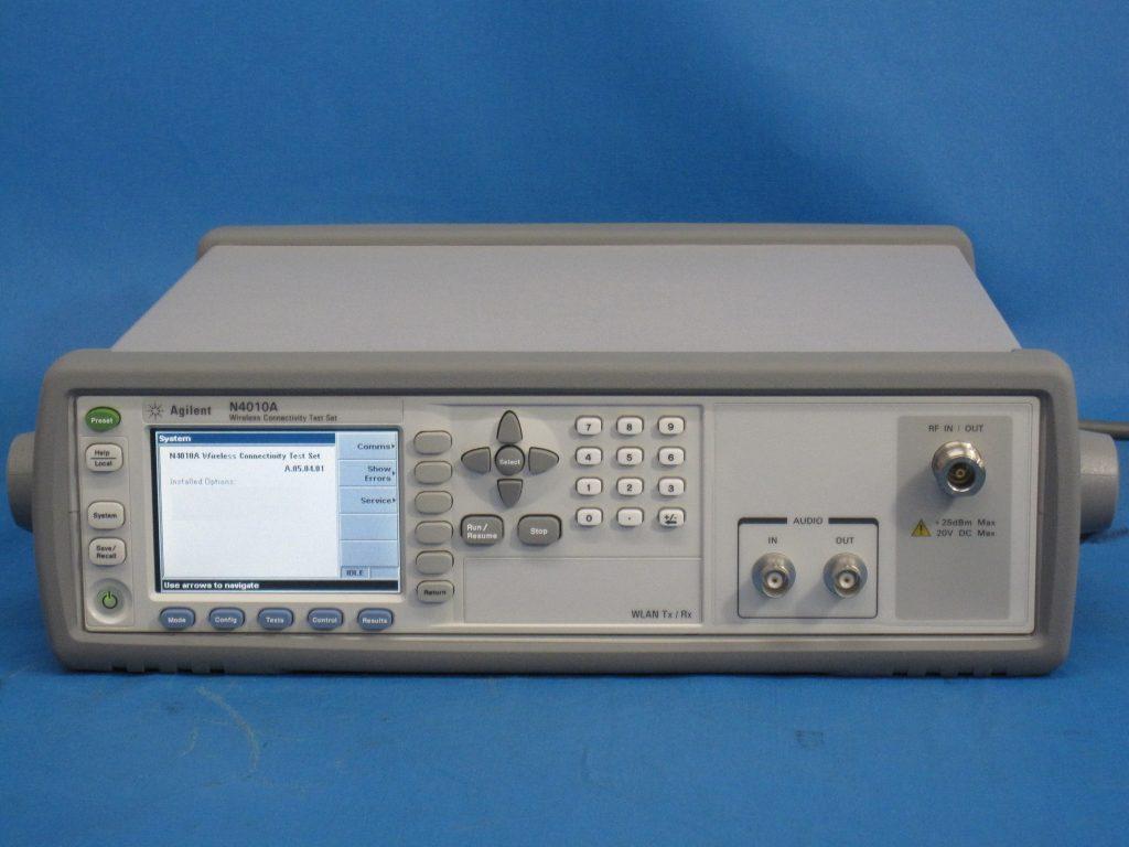 無線コネクティビティ・テストセット N4010A/101,107,110