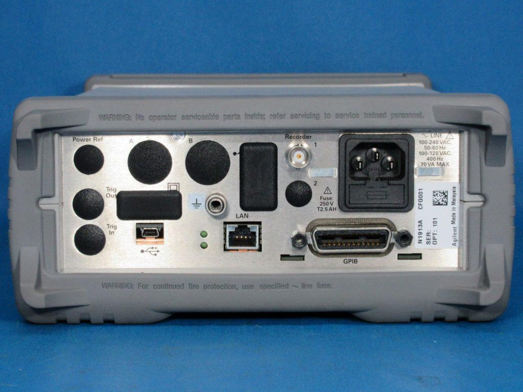 EPMシリーズ・シングル・チャネル・パワー・メータ N1913A/101