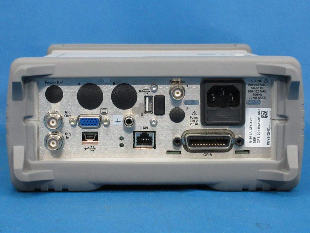 EPMシリーズ・シングル・チャネル・パワー・メータ N1913A/201,B02,C01
