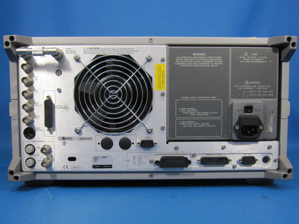 Sパラメータ・ベクトル・ネットワーク・アナライザ 8753ES/006