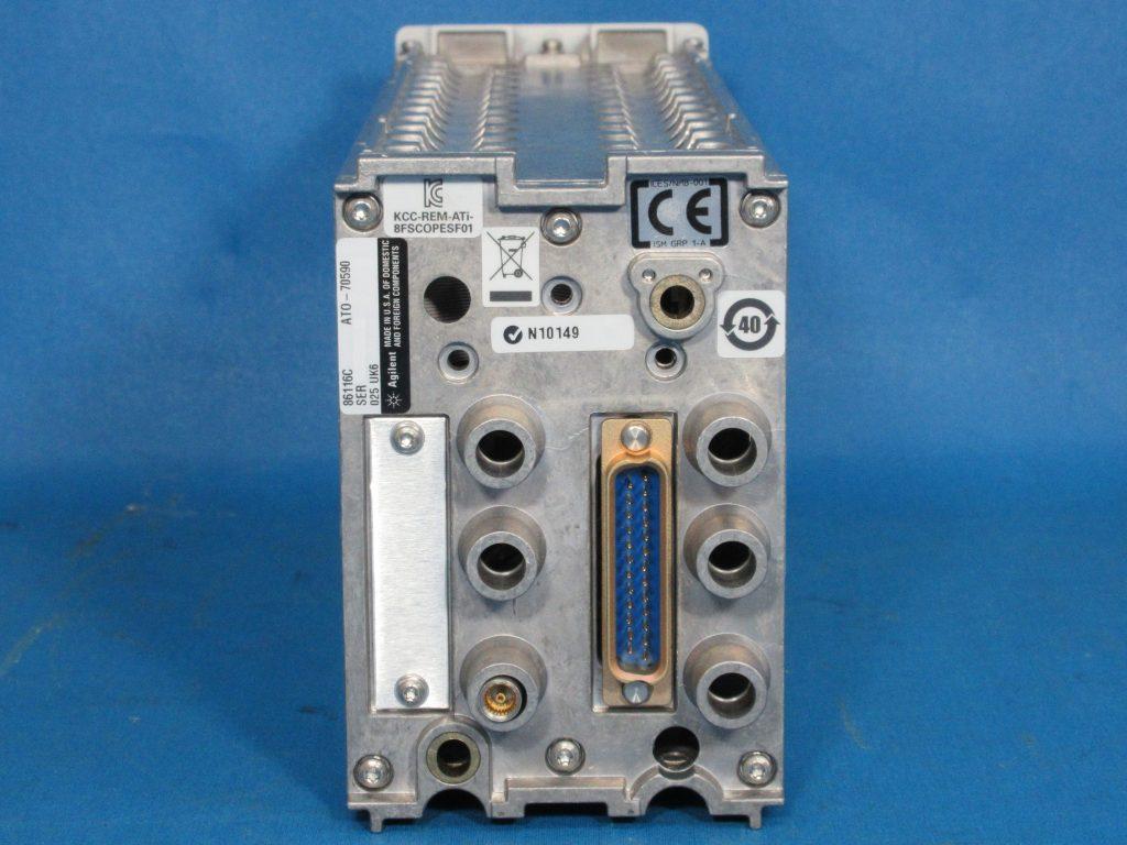 40GHz光/80GHz電気モジュール 86116C/025