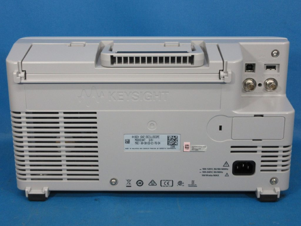 ミックスド・シグナル・オシロスコープ MSOX3104T