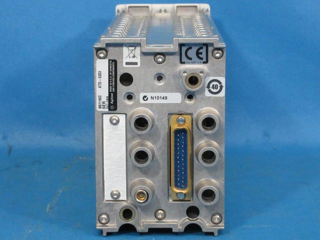 65GHz光/80GHz電気モジュール 86116C/041