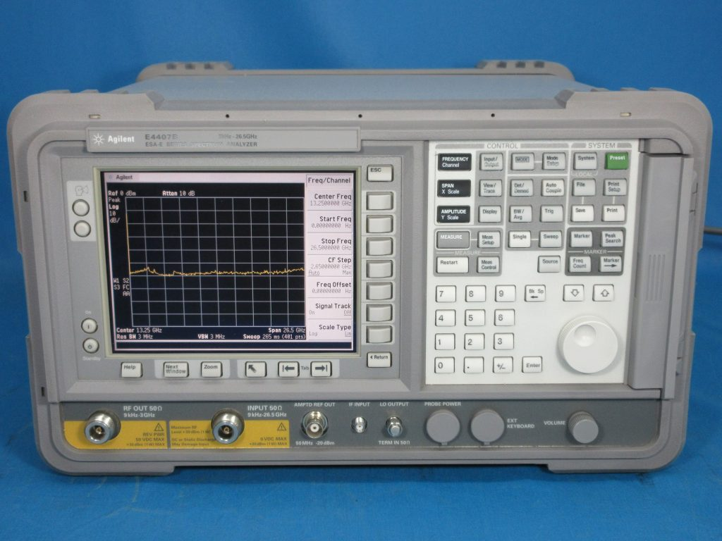 ESA-Eスペクトラム・アナライザ E4407B/1DN,A4H,B72,B75(1D5,1DR,1DS),H70