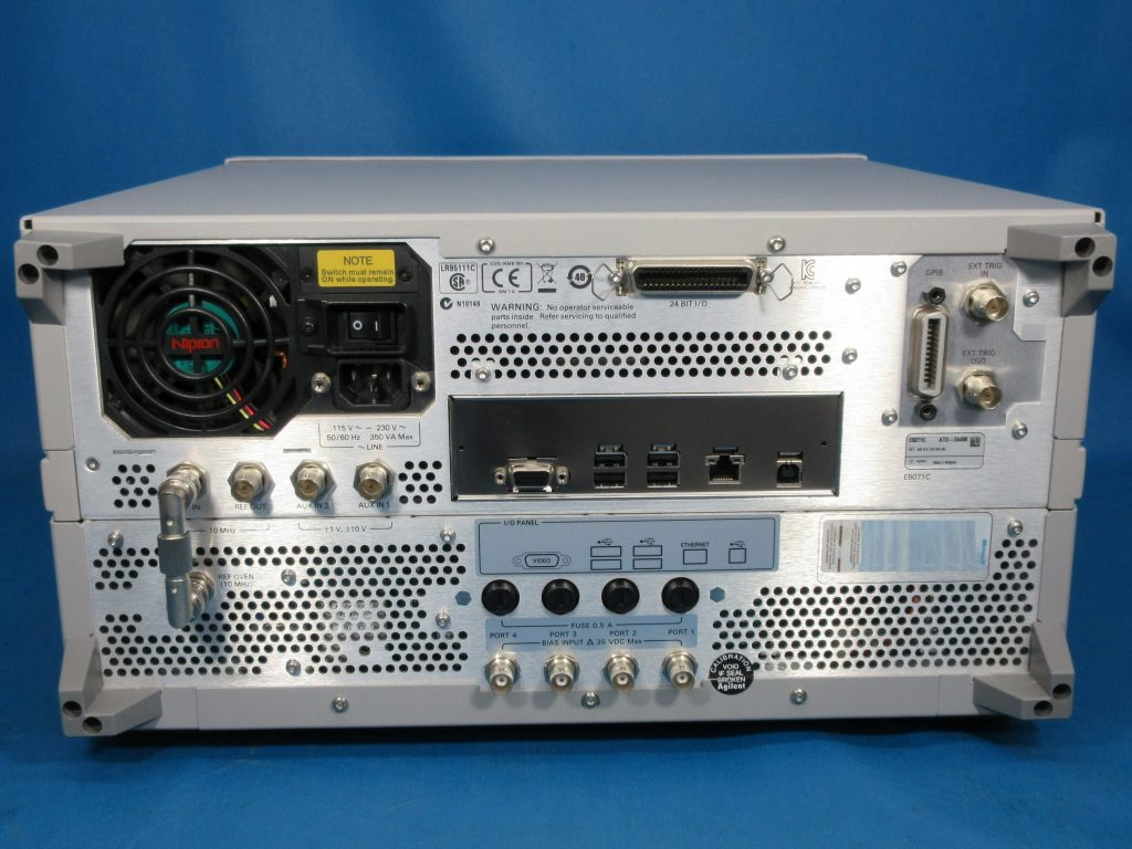 ENAベクトル・ネットワーク・アナライザ E5071C/008,019,1E5,485